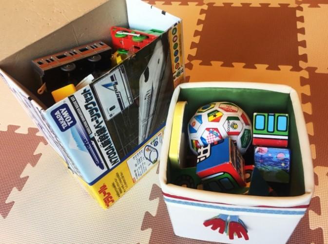 おもちゃ収納ラック (8)
