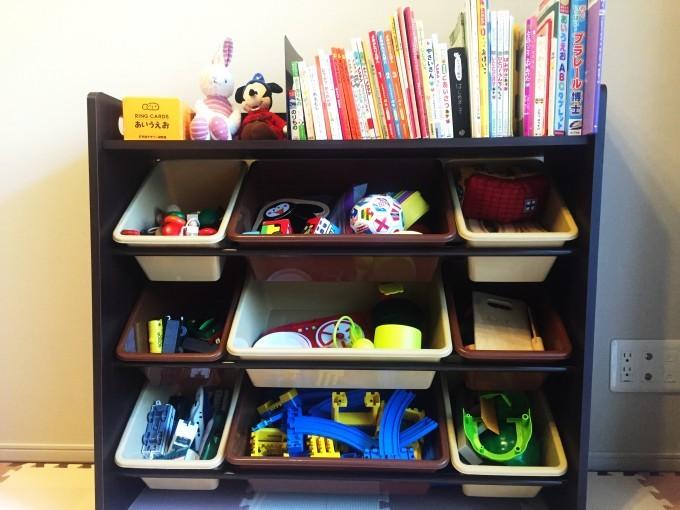 おもちゃ収納ラック (1)