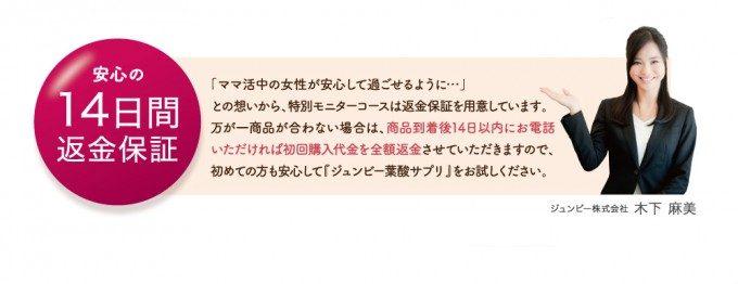 ジュンビー葉酸サプリ (5)