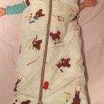 ロング羽毛スリーパー!2歳、3歳ごろからの冬の寒さ対策におすすめ