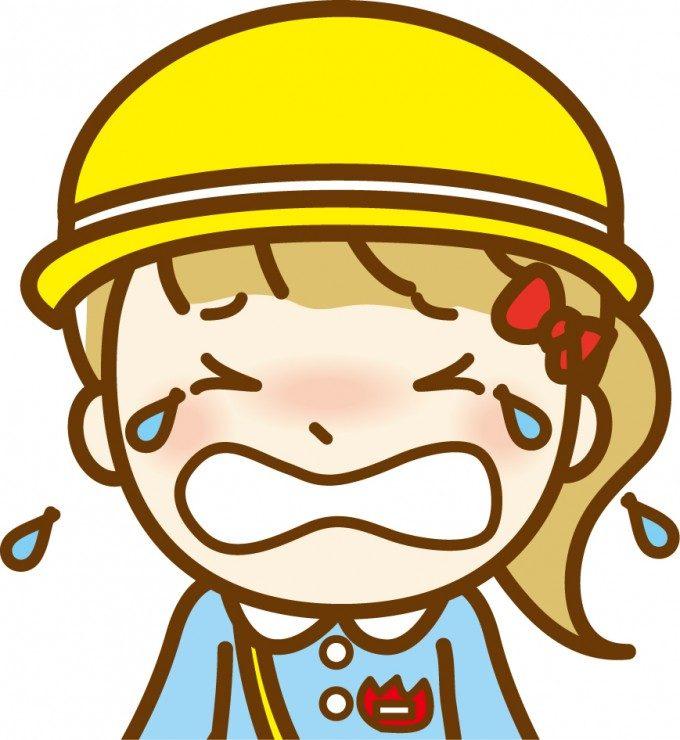 幼稚園泣く