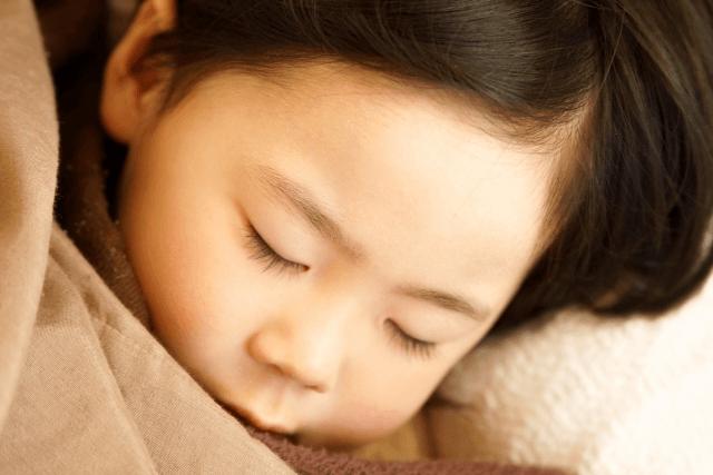 2歳睡眠時間(2)