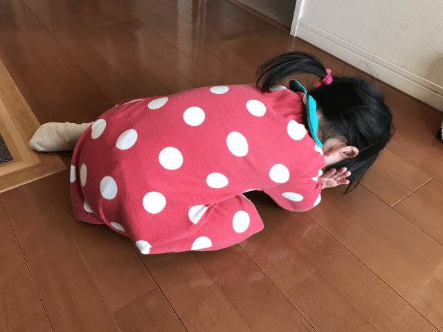 イヤイヤ期女の子(2)